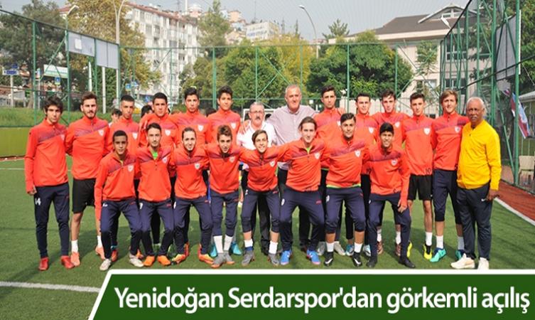 yenidoğan serdar spor tekin uygur sezon açılışı